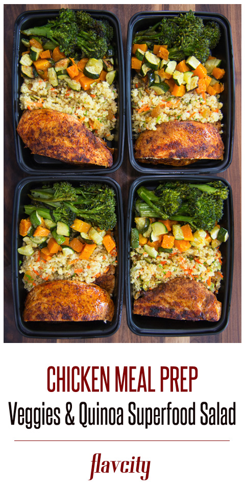 Easy Chicken Meal Prep Flavcity With Bobby Parrish