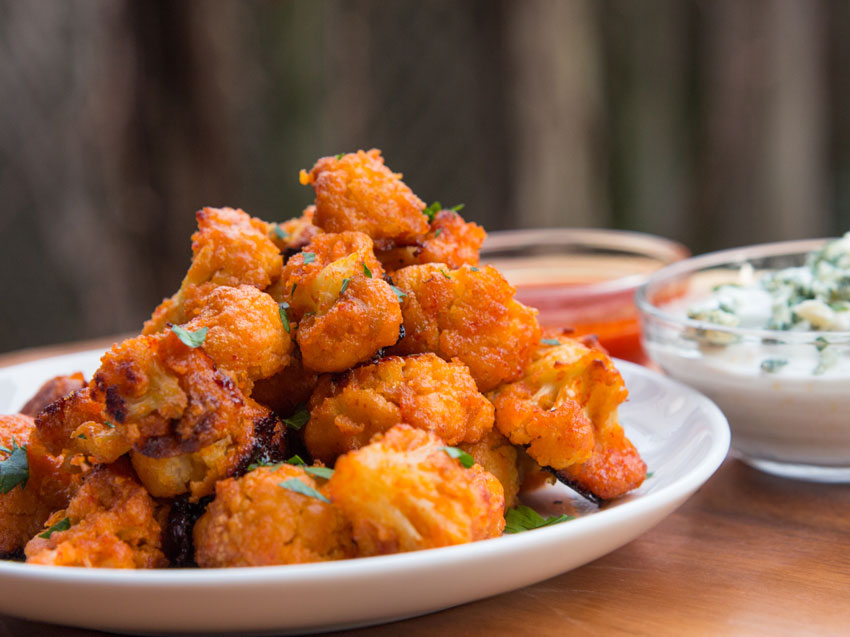 Buffalo Cauliflower Bites Flavcity With Bobby Parrish