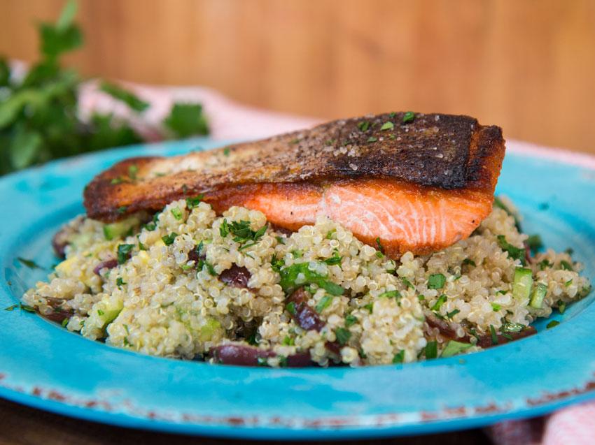 crispy-skin-salmon-with-quinoa