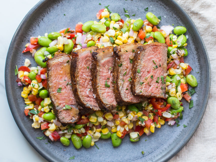 farm-families-steak-corn-salad