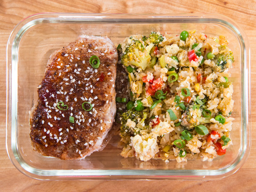 pork-chops-cauliflower-rice-meal-prep