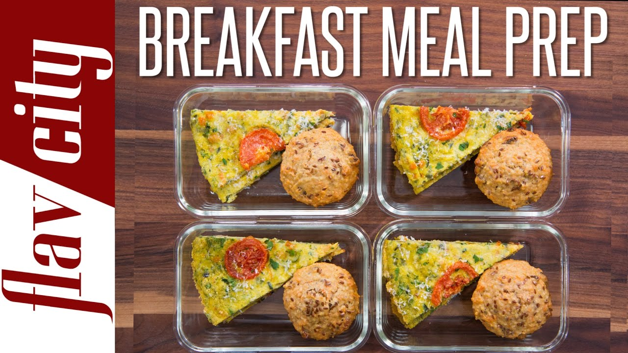 Healthy breakfast meal prep flavcity with bobby parrish forumfinder Images