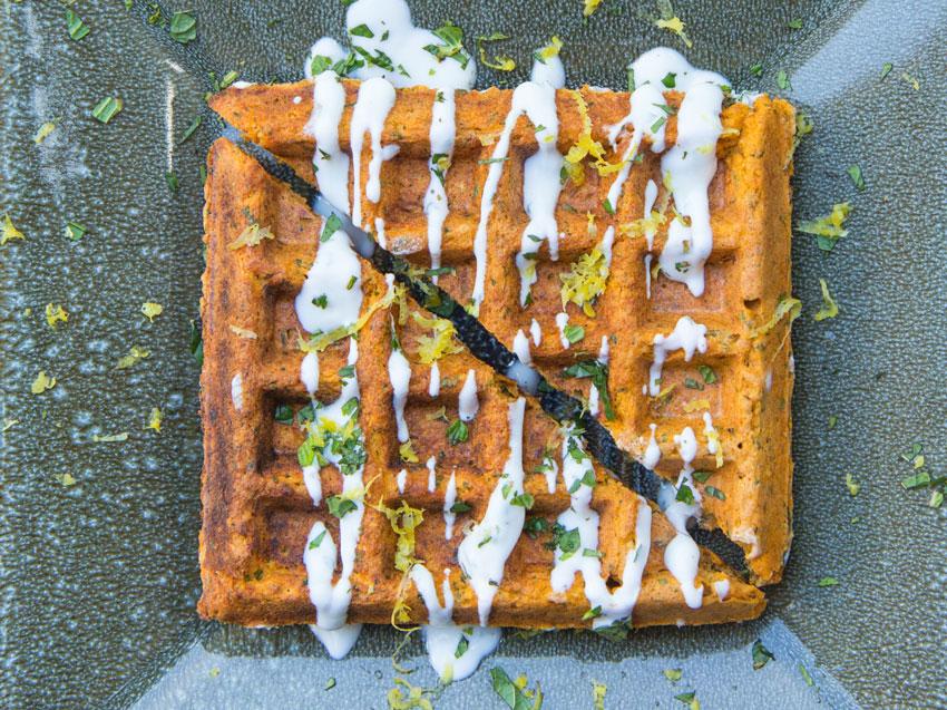 falafle-waffle