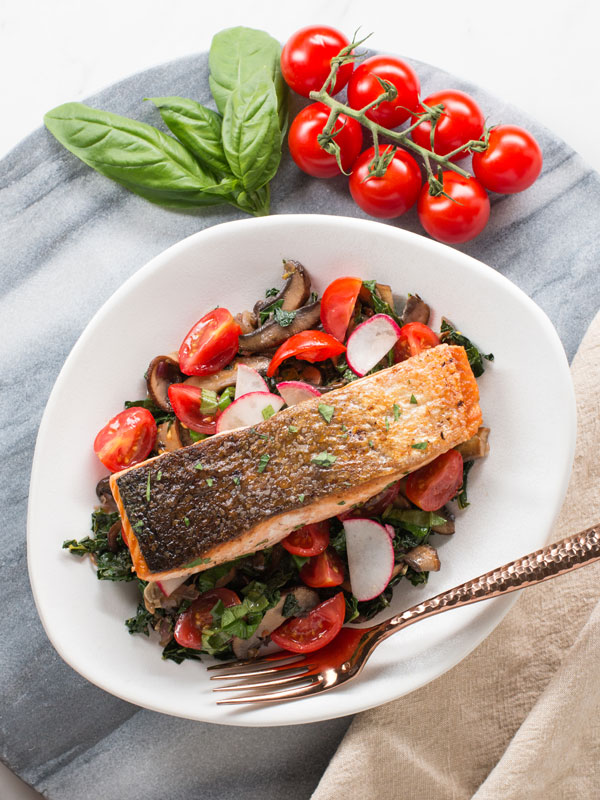 low carb salmon recpe