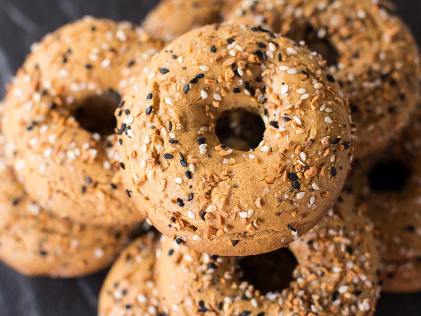 low carb bagel recipe