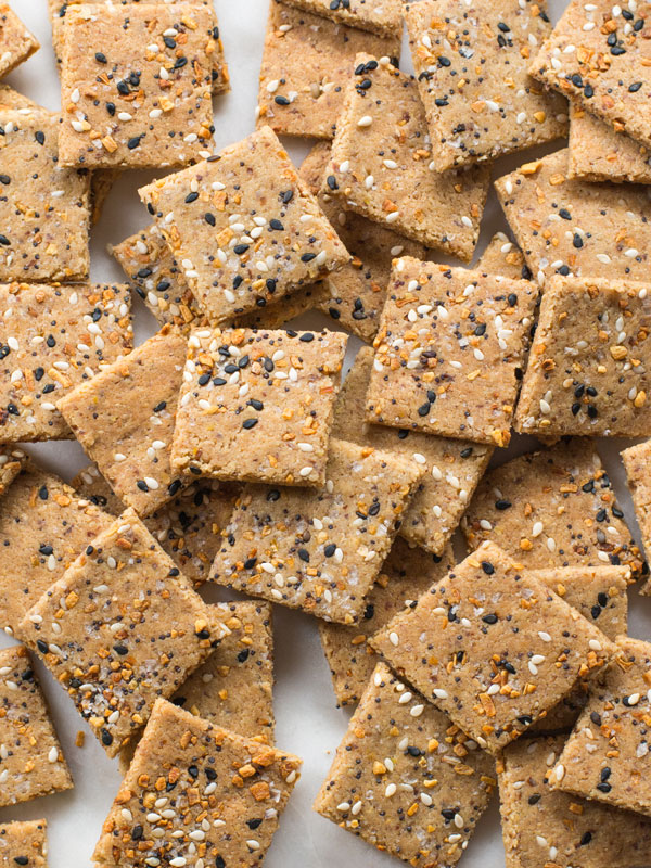 homemade gluten free crackers