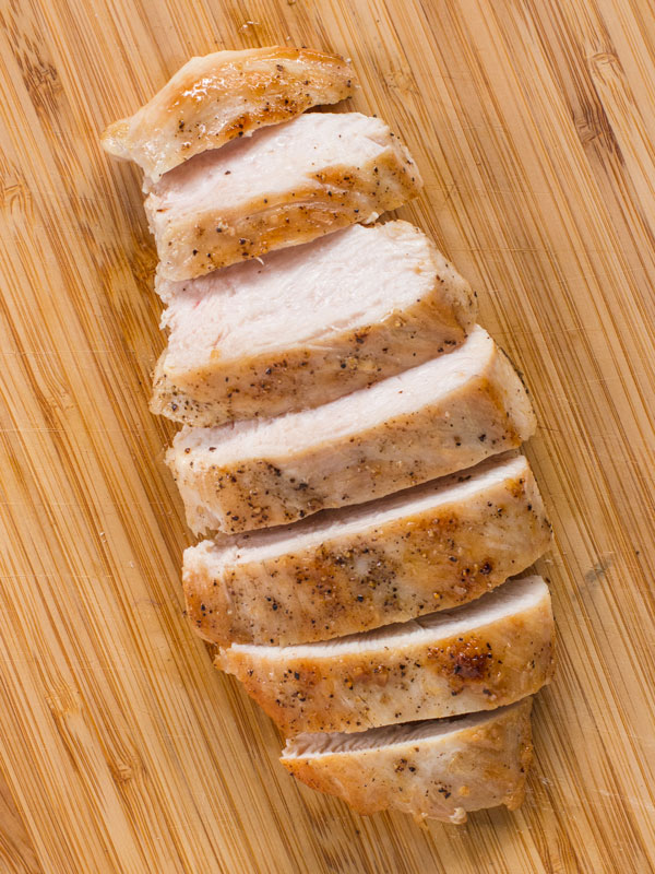 pan cooked chicken breast