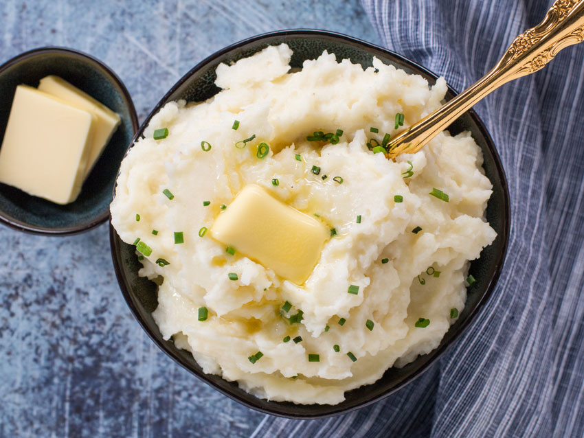 Buttery Mashed Potatoes Recipe