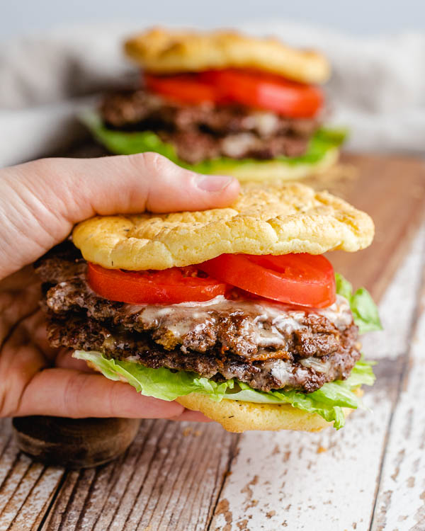Low carb cheeseburger recipe