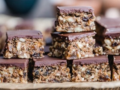 grain free chocolate granola bars