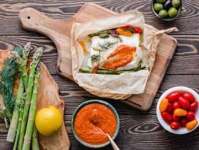 cod in parchment