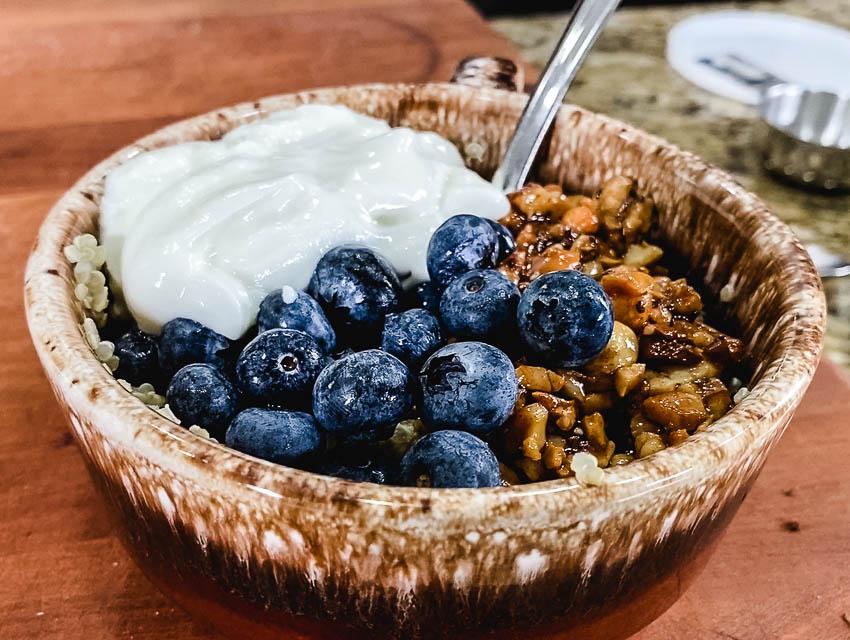 quinoa breakst