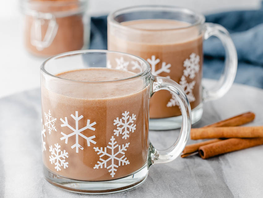 Creamy Hot Cocoa Mix Single Serving Refined Sugar Free