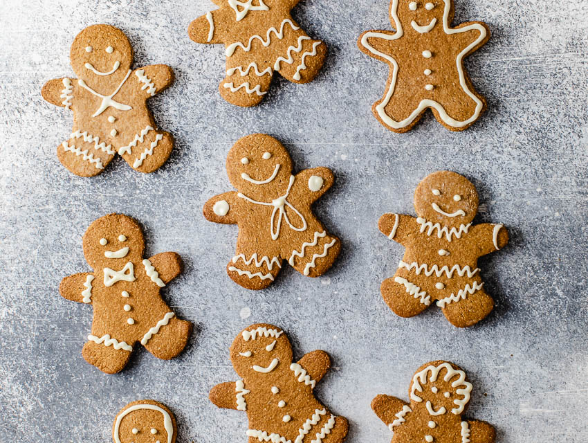 Gingerbread Cookies Gluten Refined Sugar Free