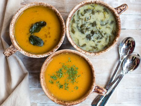 Fall soup recipes with butternut squash, quinoa and lentils