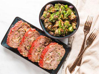 low carb meatloaf